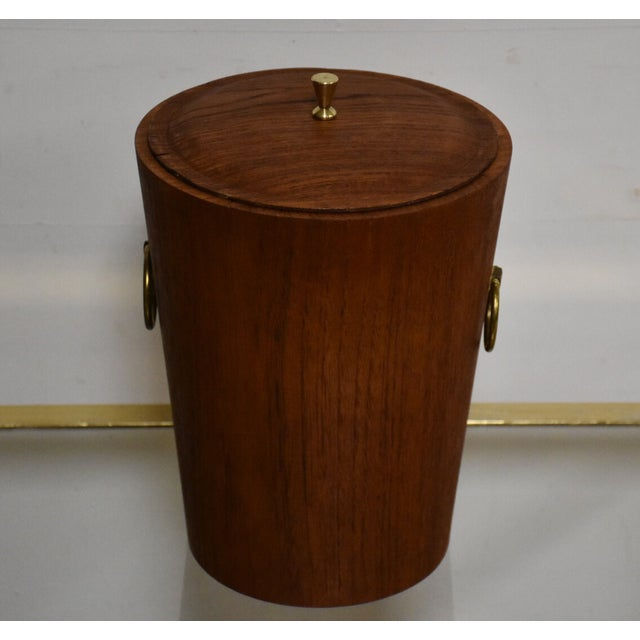 Mid-Century Teak Ice Bucket - Image 2 of 8