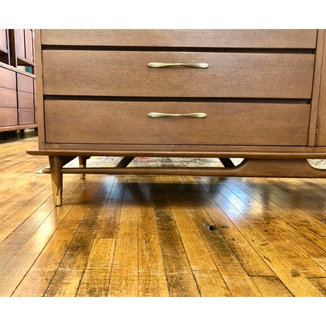 Mid Century Modern Lane Credenza 1950s For Sale In Boston - Image 6 of 13