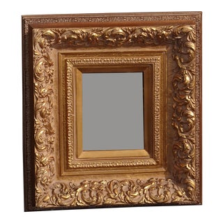 Vintage French Provincial Ornate Gold Picture Frame For Sale