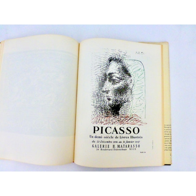 1964 Book, The Posters of Picasso, Illustrated For Sale - Image 11 of 13