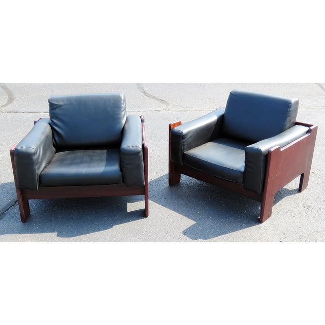 Pair of Mid Century Modern Club Chairs For Sale - Image 12 of 12