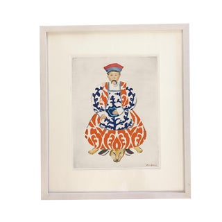 Dana Gibson Silk Scroll Art Print For Sale