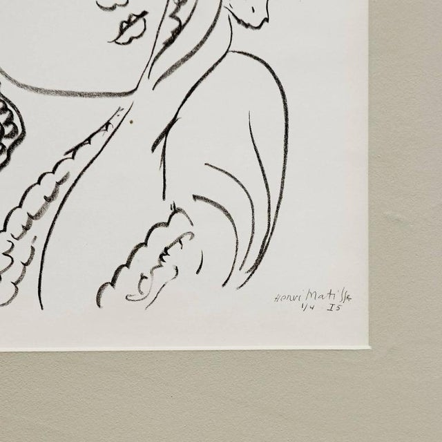 Lithograph after Original Matisse Drawing, 1942 - Image 2 of 5