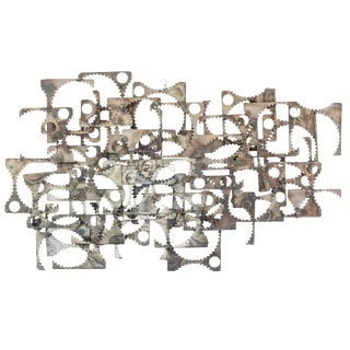 Abstract Wall Sculpture For Sale