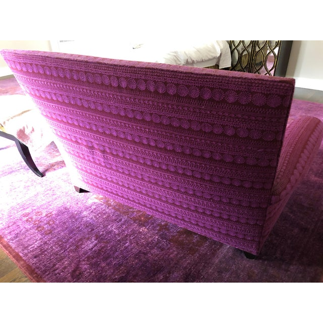 Textile Donghia St. James Loveseat For Sale - Image 7 of 13