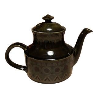 Arthur Wood Mid-Century Stoneware Teapot