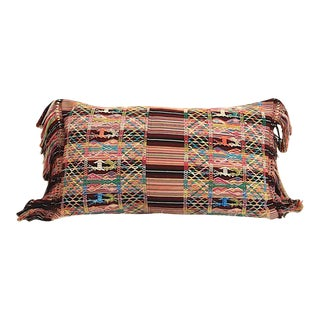 Colorful Guatemalan Pillow by Global Trunk For Sale