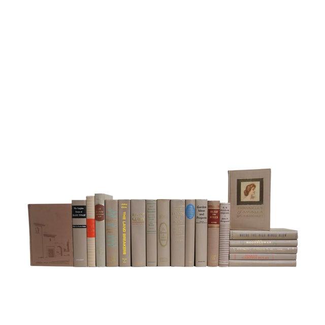 Midcentury Mushroom MIX : Set of Twenty Decorative Books For Sale