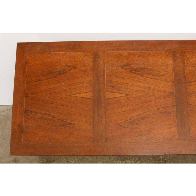t.h. Robsjohn-Gibbings Neoclassical Cocktail Table for Baker For Sale - Image 11 of 13