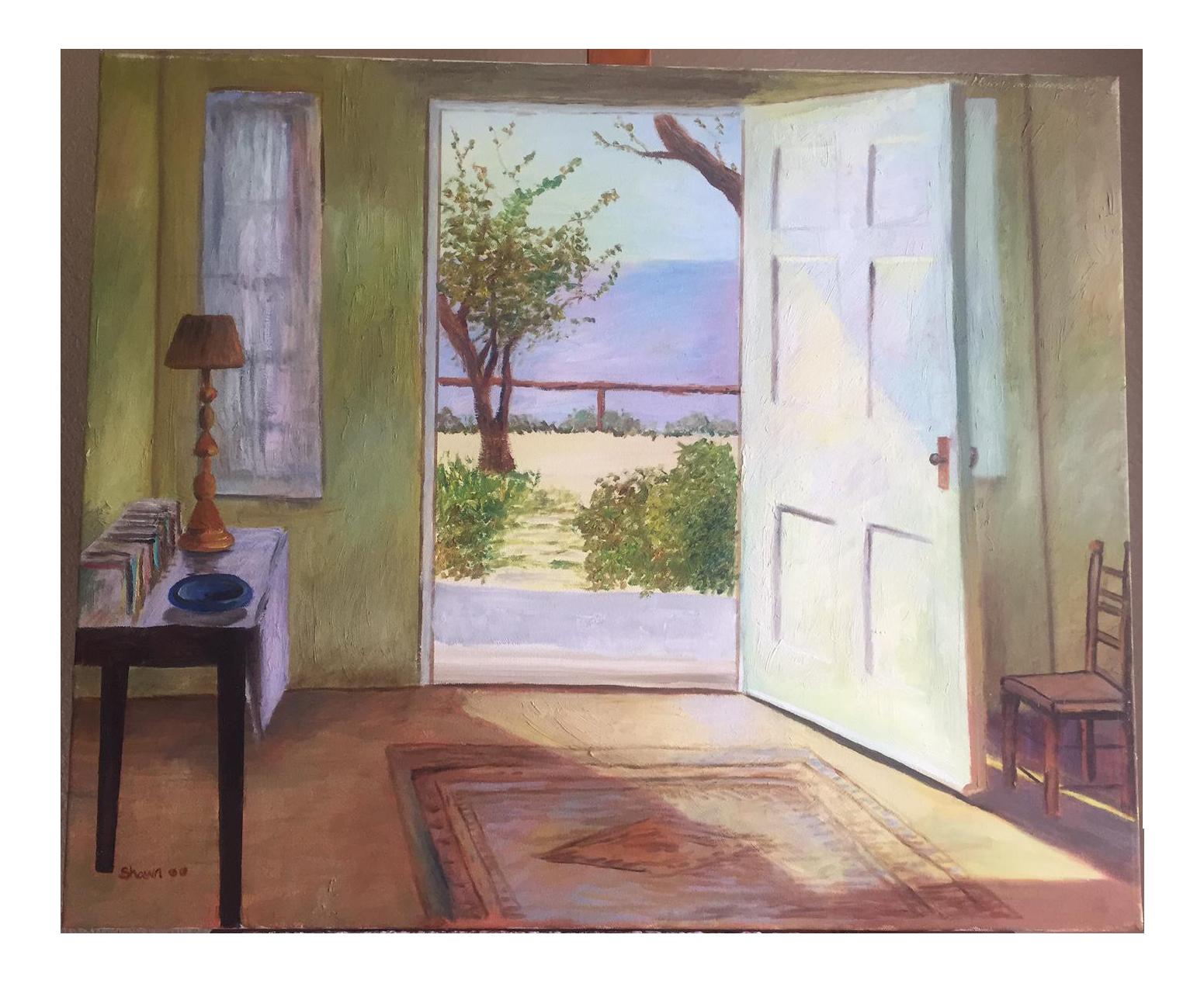 open door painting. \u0027Open Door\u0027 Oil Painting - Image 1 Of 3. \u0027 Open Door R