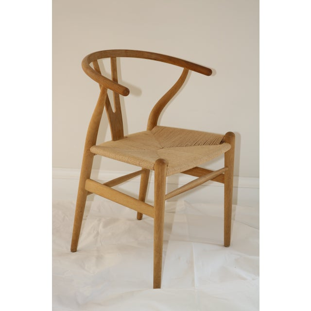 2000s Hans Wegner for Carl Hansen & Son Ch24 Wishbone Chairs - Set of 8 For Sale - Image 5 of 13