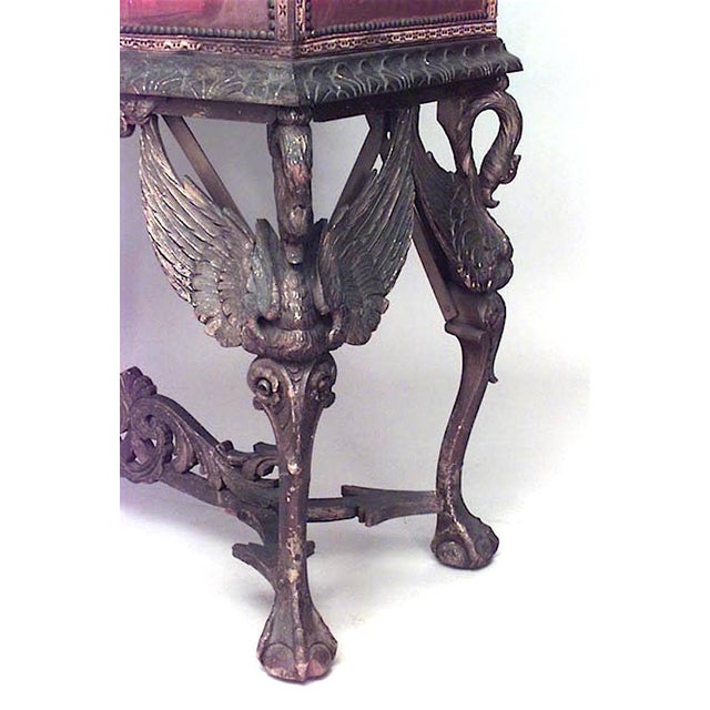 1900 - 1909 Spanish Renaissance Style Cabinet on Stand For Sale - Image 5 of 6