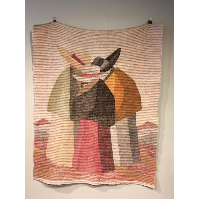 Peruvian Handmade Wool Tapestry / Throw For Sale In Chicago - Image 6 of 6