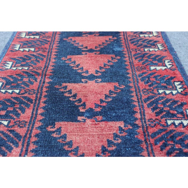 Turkish Hand Made Runner - 1′9″ × 9′5″ - Image 6 of 8