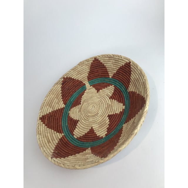 Woven Native American Style Wedding Basket For Sale - Image 4 of 5