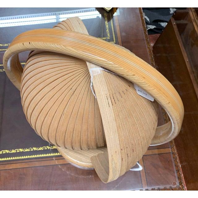 Tan Danish Modern Nautilus Lamp For Sale - Image 8 of 12