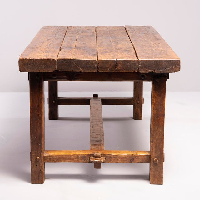 Early 19th Century Rustic Table For Sale - Image 10 of 13