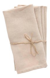 Image of Beige Dinner Napkins