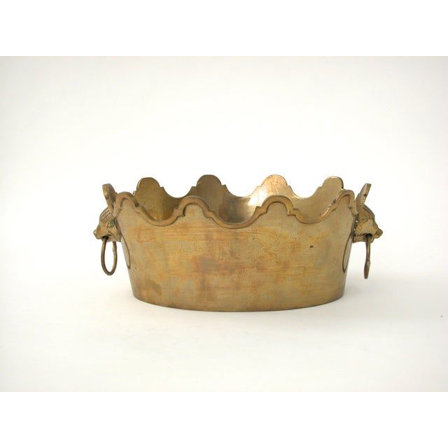Brass Lion Bowl - Image 2 of 9