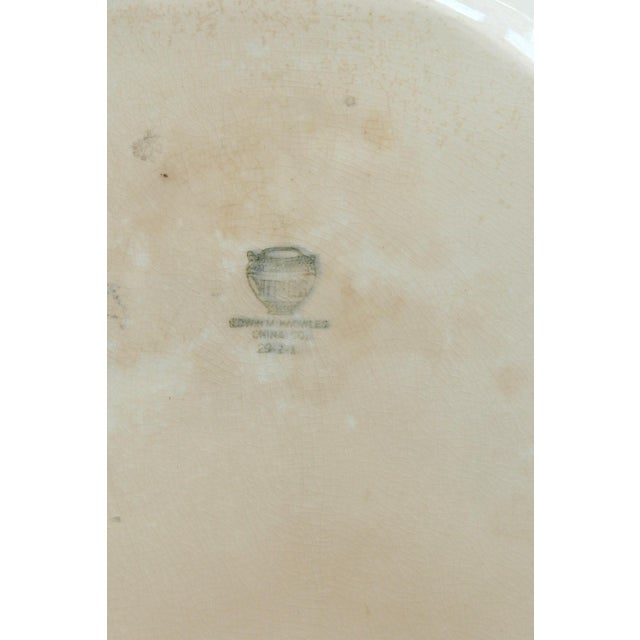 Large Vintage Shabby Chic Platter For Sale - Image 4 of 5