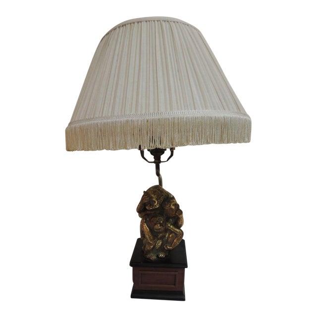 Vintage Monkeys Table Lamp - Image 1 of 7
