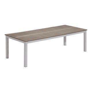 Rectangular Outdoor Dining Table, Vintage For Sale