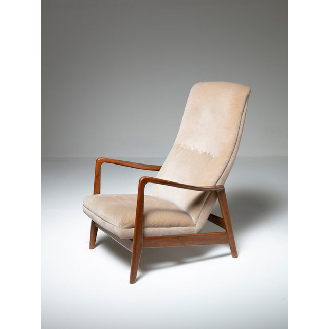 Tan Lounge Chair by Arnestad Bruk for Cassina For Sale - Image 8 of 8