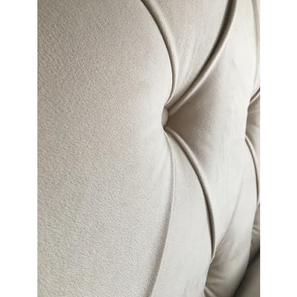 Queen Tufted Headboard in Wheat - Image 4 of 7