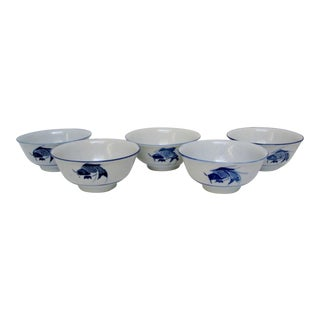 Chinese Rice Bowls - Set of 5