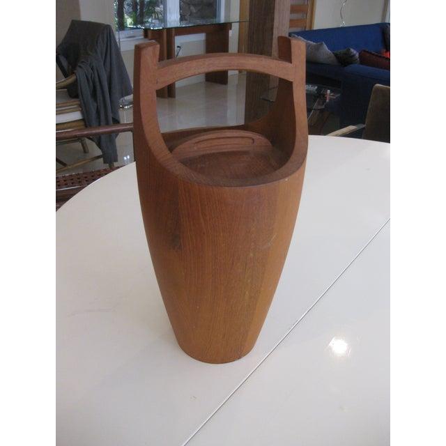 Dansk Jens Quistgaard Danish Modern Teak Ice Bucket For Sale In Orlando - Image 6 of 6