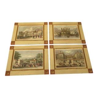 W. King Ambler 'London Views' Framed Prints - Set of 4