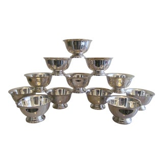 Reed & Barton Small Revere Bowls - Set of 12