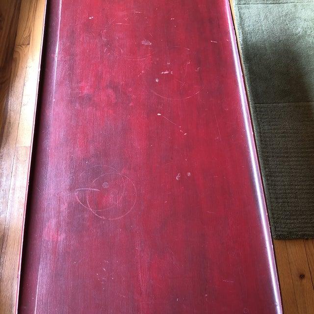 1960s Bassett Mid-Century Danish Modern Surf Table For Sale - Image 5 of 8