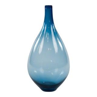 Blue Zafiro Glass Vase