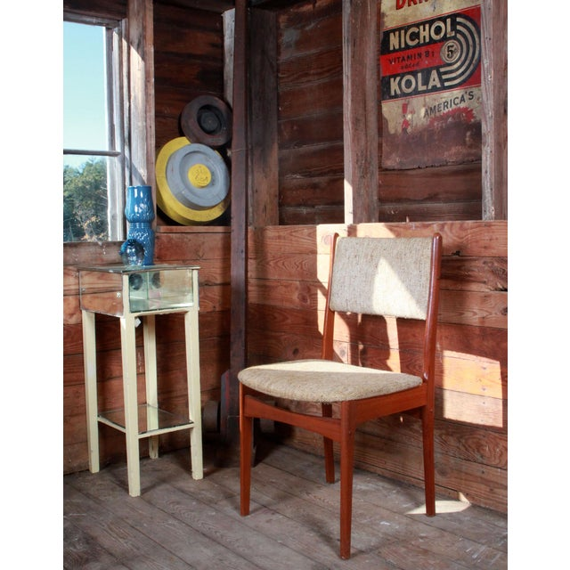 Vintage Teak Danish Modern Dining Chairs - Set of 4 - Image 6 of 9
