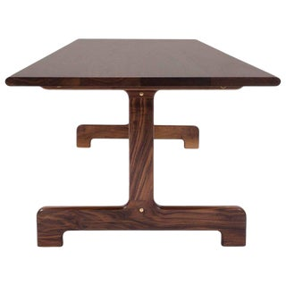 Asa Pingree Physalia Dining Table in American Walnut For Sale