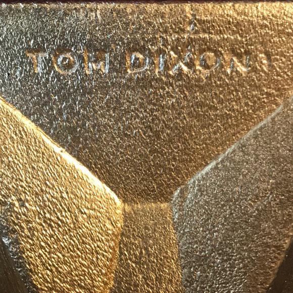 Mid-Century Modern Tom Dixon Gem Candlestick Gold For Sale - Image 3 of 6