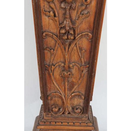English Traditional 19th C. English Pine Pedestals For Sale - Image 3 of 4
