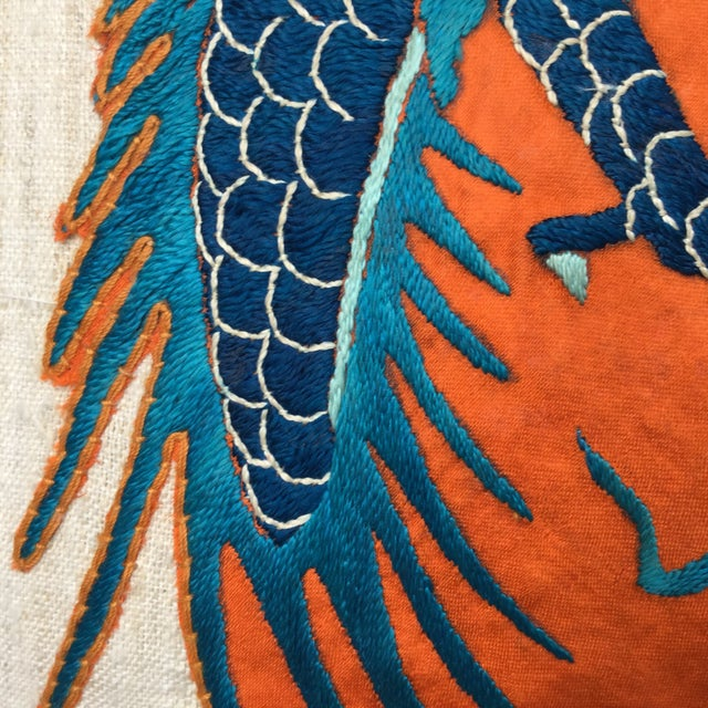 Chinese Emperor's Opera Robe Dragon Pillow - Image 8 of 8