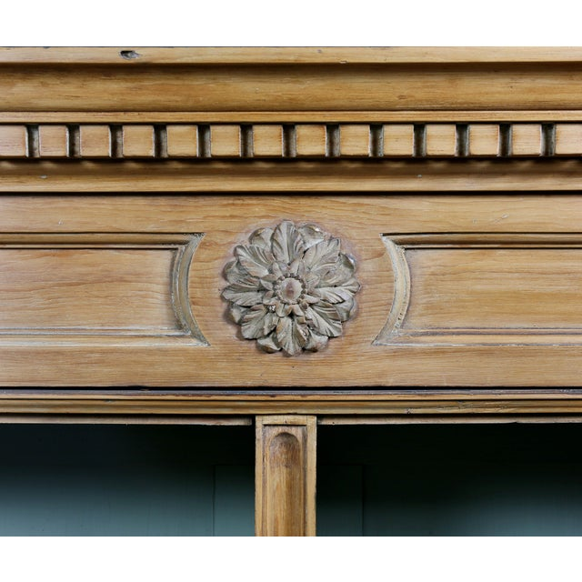 Late 18th Century George III Pine Bookcase For Sale - Image 5 of 12