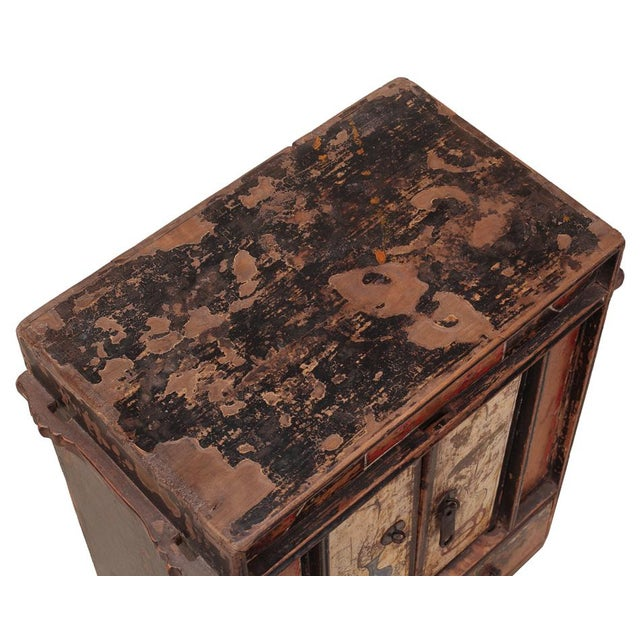 C. 1920 Chinese Painted Cabinet - Image 3 of 4