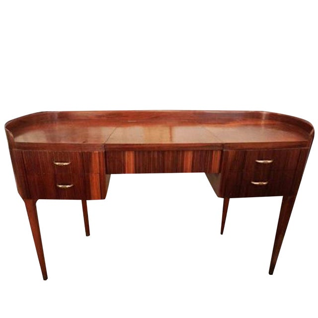 Paolo Buffa Modernist Vanity or Dressing Table For Sale