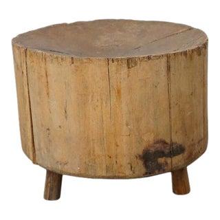 Primitive Side Table For Sale