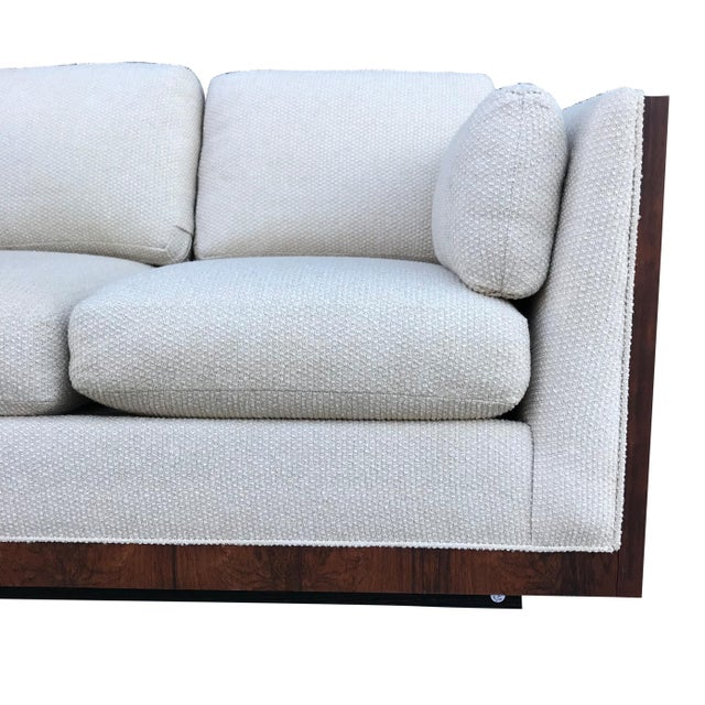 Milo Baughman for Thayer Coggin Case Loveseat For Sale In New York - Image 6 of 9
