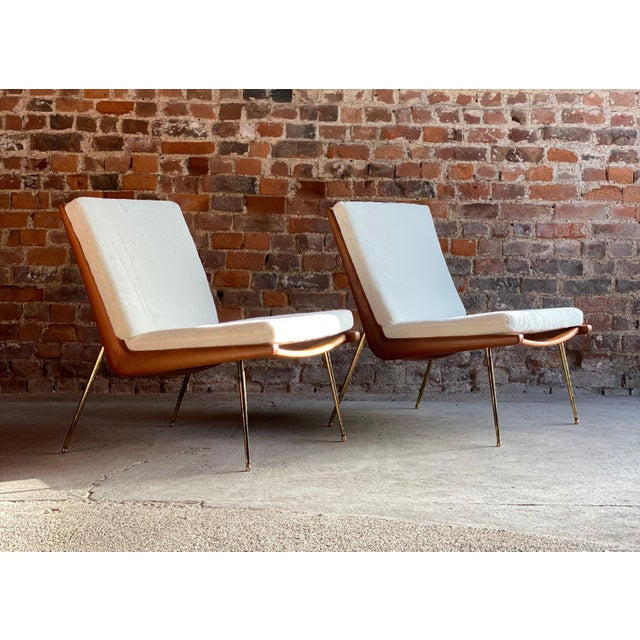 Boomerang chairs France & Son Pair of Peter Hvidt & Orla Mølgaard Nielsen, 1950s A pair of Boomerang chairs by Peter Hvidt...