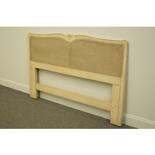 20th Century French Provincial Davis Cabinet Country Queen Size Headboard Preview