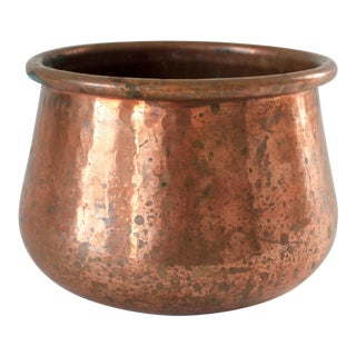 Turkish Copper Planter For Sale