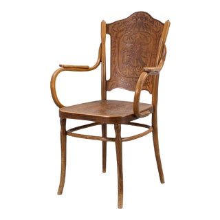 Pair of Vienna Secession Armchair by Jakob & Josef Kohn, 1900s For Sale