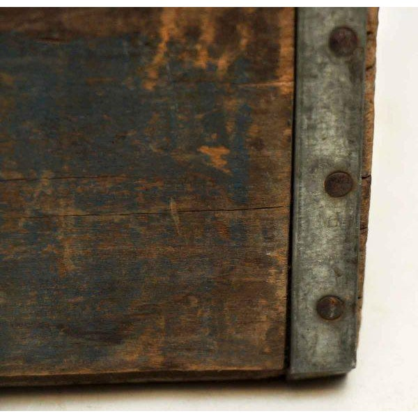 Wood Worn Vintage Wooden Pepsi Crate For Sale - Image 7 of 10