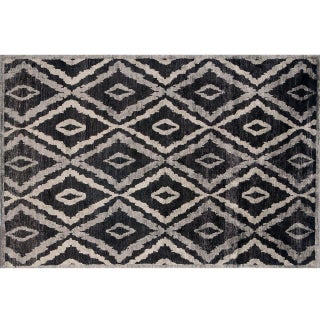 Stark Studio Rugs Traditional New Oriental Tibetan Silk Rug - 6′ × 9′1″ For Sale